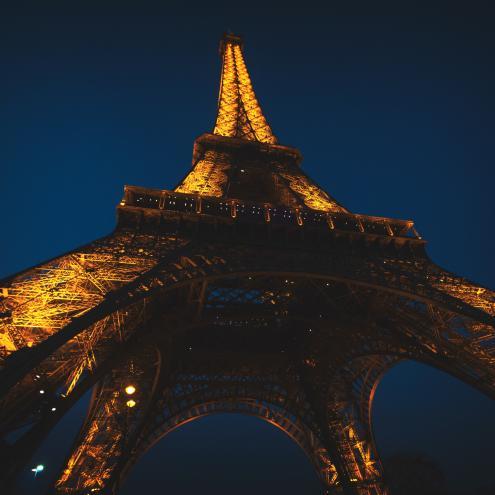 Celebrating the Eiffel Tower