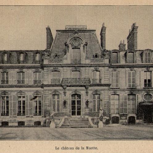 The castle of la Muette.